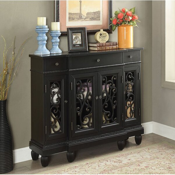 Toney Hallway 3 Drawer Accent Cabinet by Fleur De Lis Living
