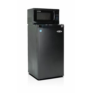 Compact Refrigerator With Microwave