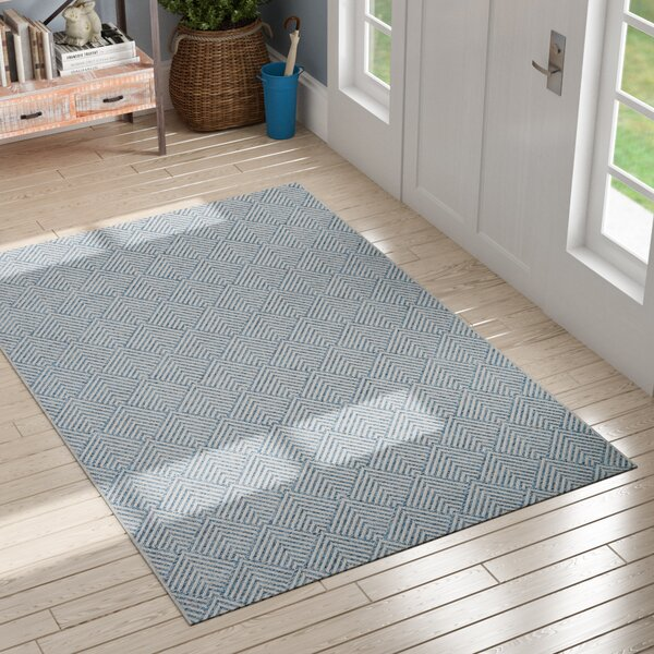 Milivoje Blue Area Rug by Gracie Oaks