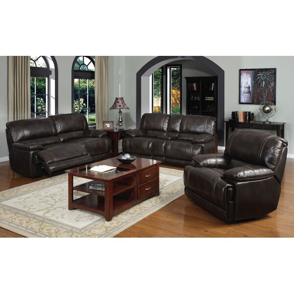 Leyla Reclining Configurable Living Room Set by Winston Porter