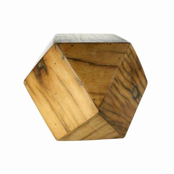 Allenton Solid Wood Block End Table By Bloomsbury Market