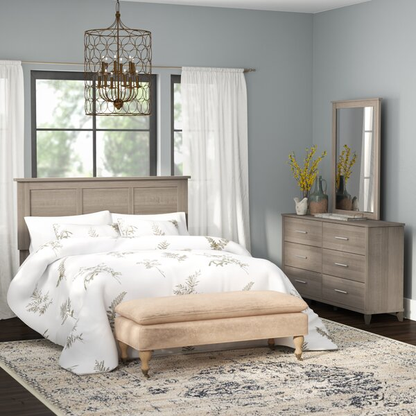 Valencia 3 Piece Bedroom Set by Laurel Foundry Modern Farmhouse Laurel Foundry Modern Farmhouse
