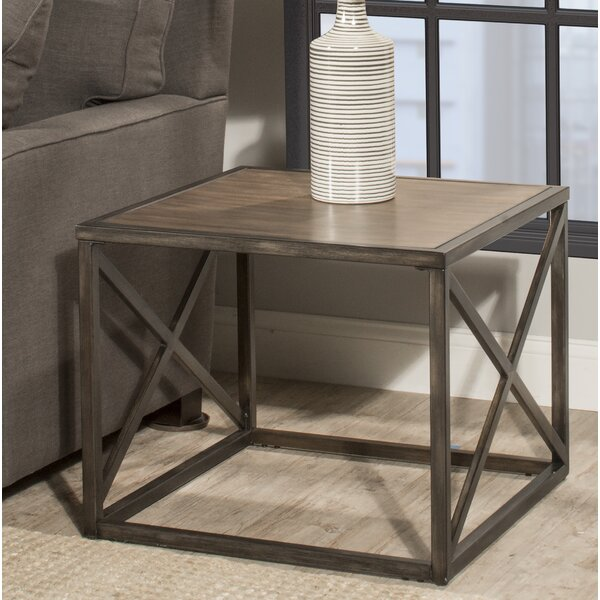 Raymond End Table by Gracie Oaks