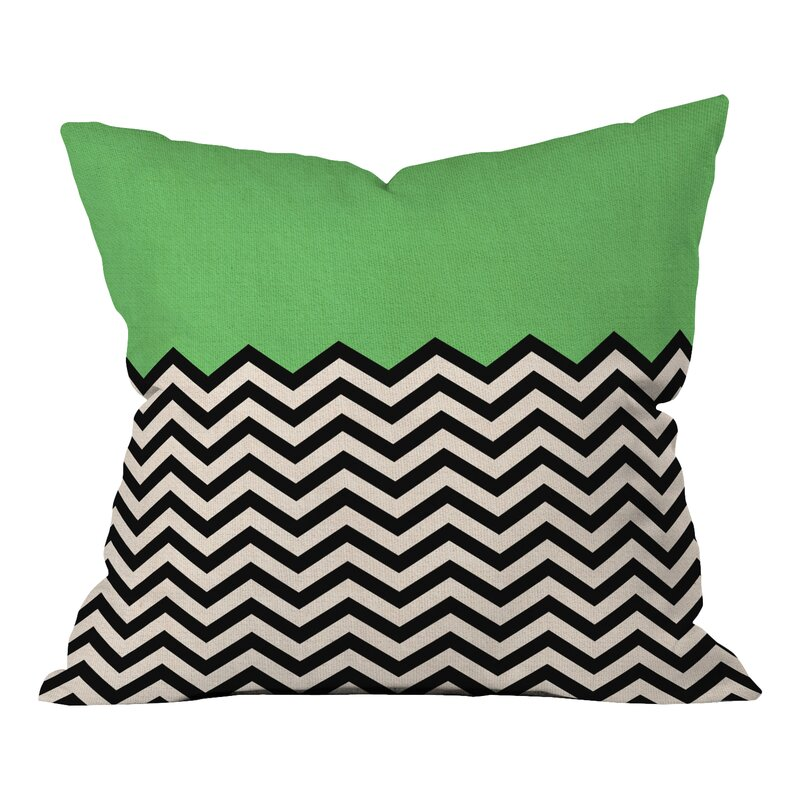 Deny designs bianca green indoor outdoor throw pillow for Indoor navigation design