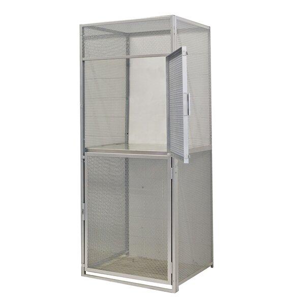 Bulk 2 Tier 1 Wide Storage Locker by Hallowell