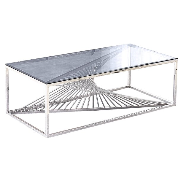 Jeffreys Abstract Coffee Table By Everly Quinn