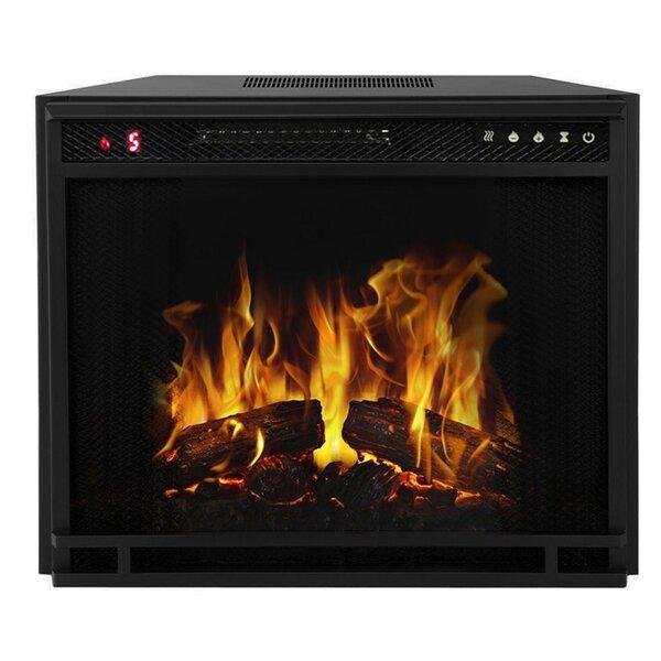 Gibbs Flat Electric Fireplace Insert By Ebern Designs