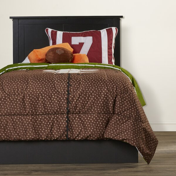 Justyn Reversible Comforter Set by Zoomie Kids