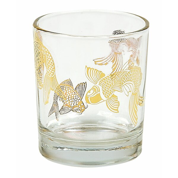 Tinsley Mortimer Koi Rock Tumbler (Set of 4) by Tinsley Mortimer