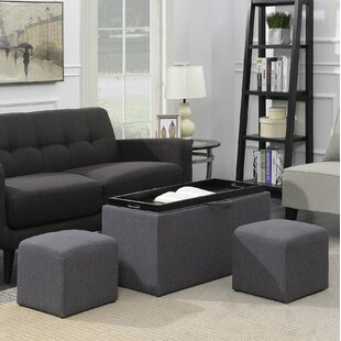 Marla 3 Piece Ottoman by Zipcode Design