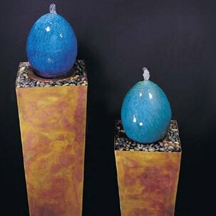 Nayer Kazemi Ceramic Indoor Simple Delight Floor Fountain