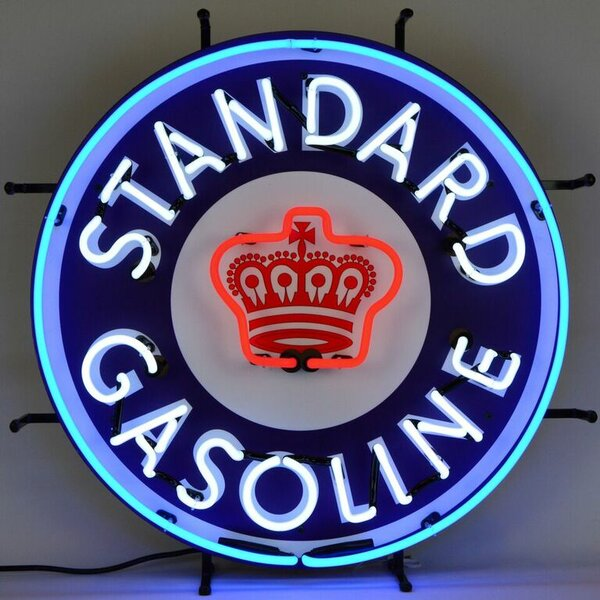 Standard Gasoline Neon Sign by Neonetics