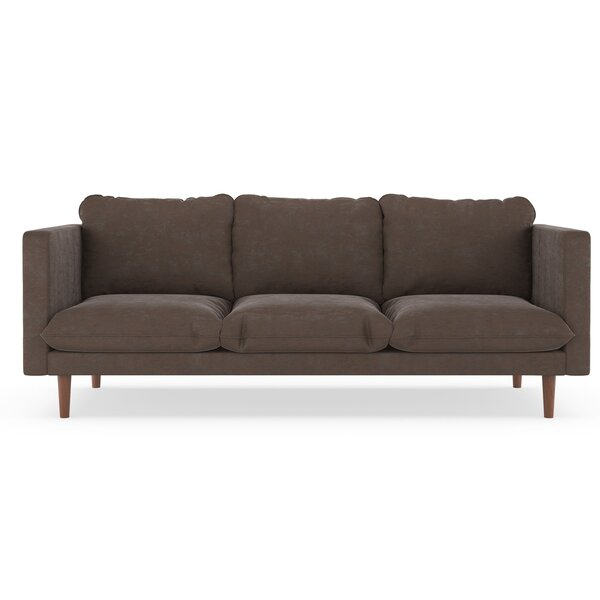 Courtemanche Micro Suede Sofa by Foundry Select