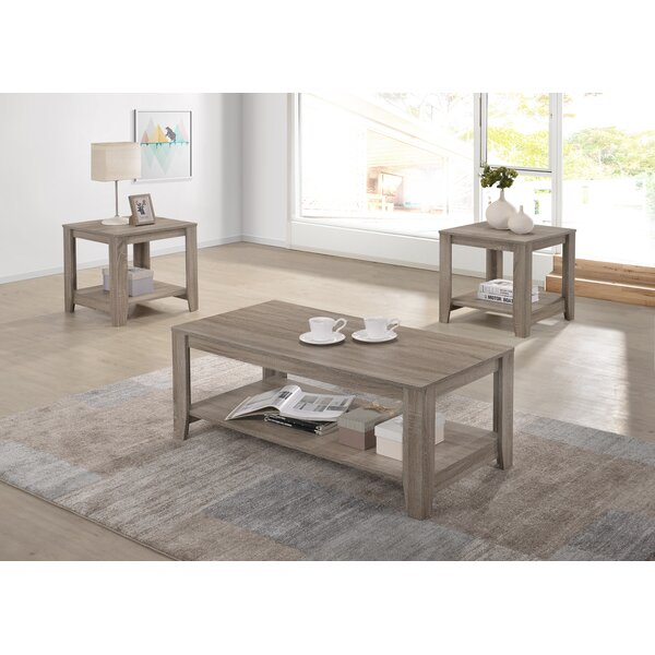 Hille 3 Piece Coffee Table Set