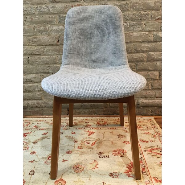 Dionne Mid Century Upholstered Dining Chair by Corrigan Studio