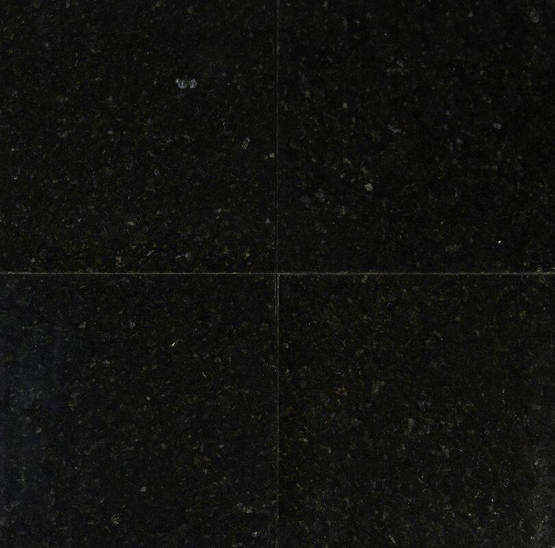 """12"""" x 12"""" Granite Field Tile in Uba Tuba"""