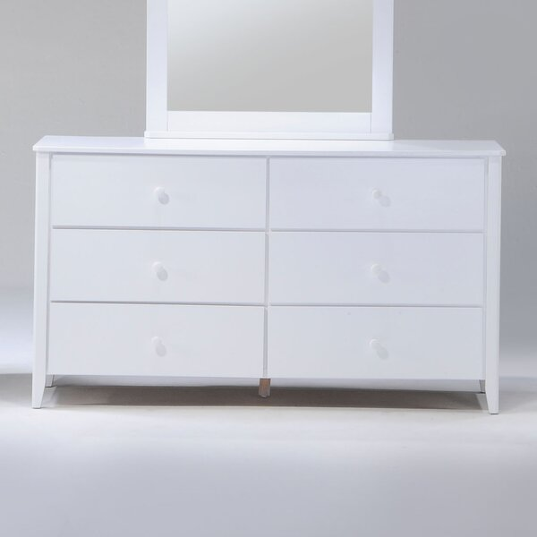 Brancaster 6 Drawer Double Dresser by Winston Porter