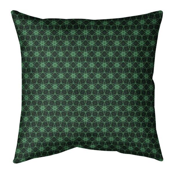 Avicia Ornate Circles Indoor/Outdoor Throw Pillow