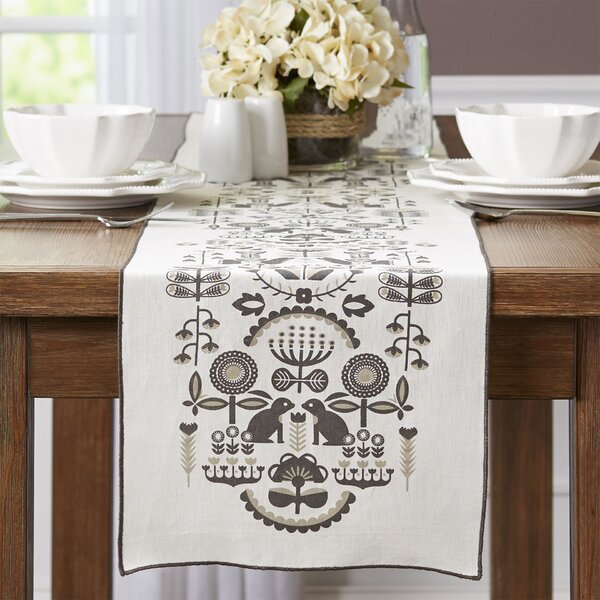 Folklore Table Runner by Danica Studio