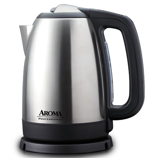 1.75-qt. Stainless Steel Digital Electric Kettle by Aroma