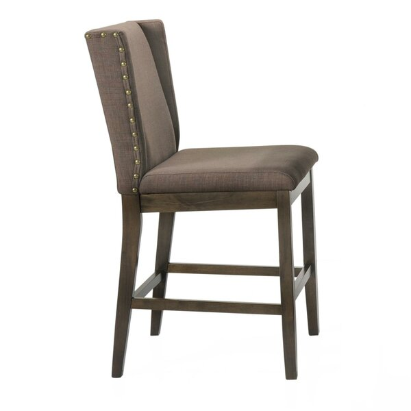 Wallach Counter Height Bar Stool by Gracie Oaks