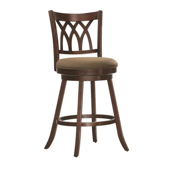 Eastham 29 Swivel Bar Stool by Winston Porter