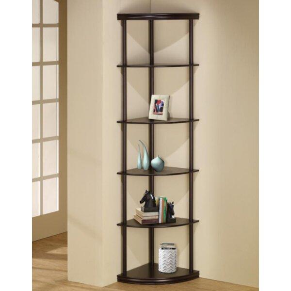Manzo Corner Unit Bookcase by Ebern Designs