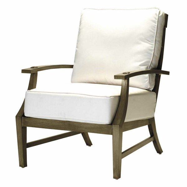 Croquet Lounge Patio Chair with Cushions by Summer Classics Summer Classics