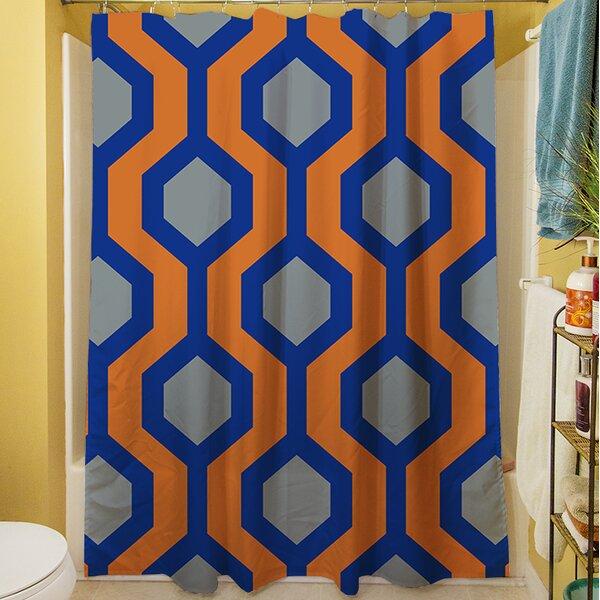 San Marcos Shower Curtain by Latitude Run