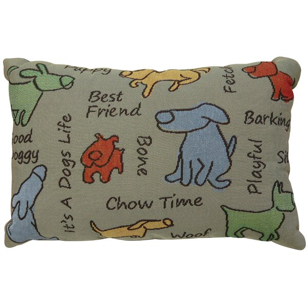 Thornhill Dog Show Tapestry Throw Pillow by Winston Porter