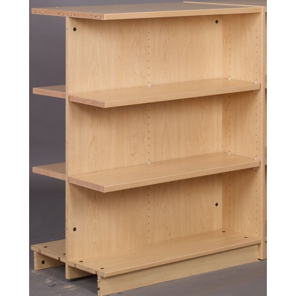 Library Adder Double Face Standard Bookcase by Stevens ID Systems Stevens ID Systems