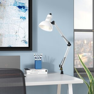 Shop For Thompson Clamp-On 35 Desk Lamp By Ebern Designs