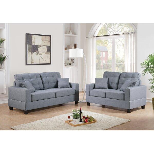 Melia 2 Piece Living Room Set By Ebern Designs