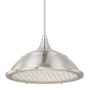 Sondra 1-Light Bowl Pendant