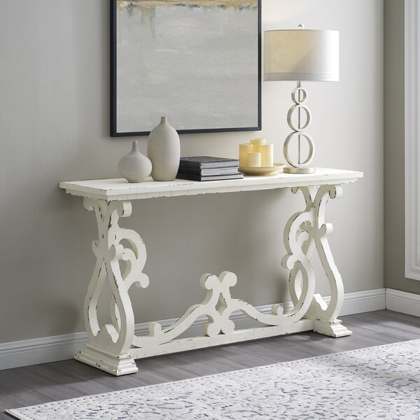 One Allium Way Wood Console Tables