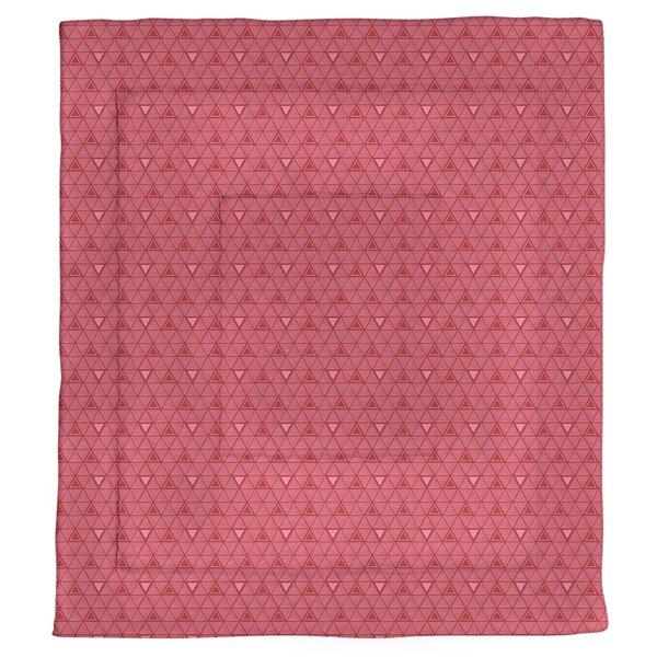 Festive Hand Drawn Triangles Single Comforter
