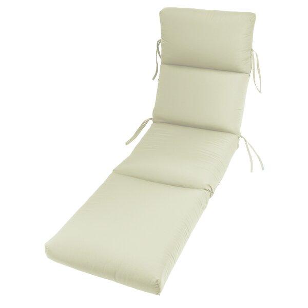 Indoor/Outdoor Sunbrella Chaise Cushion (Set of 2)