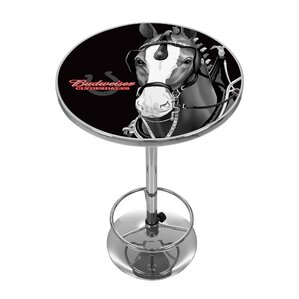 Budweiser Clydesdale Pub Table by Trademark Global