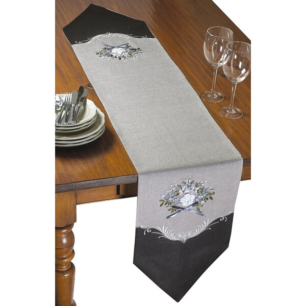 Hedin Embroidered Table Runner by Astoria Grand