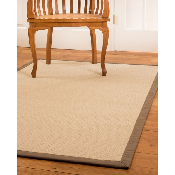 Lazio Hand-Woven Beige Area Rug by Natural Area Rugs