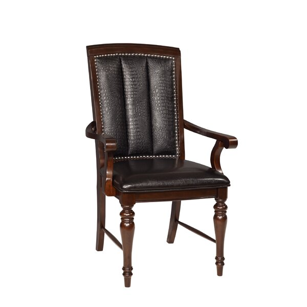Balmers Arm Chair (Set of 2) by Astoria Grand