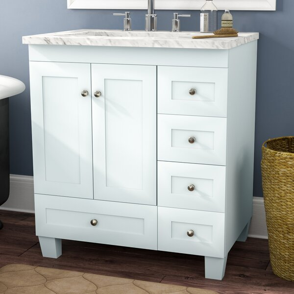 Lauder 31 Single Bathroom Vanity by Three Posts