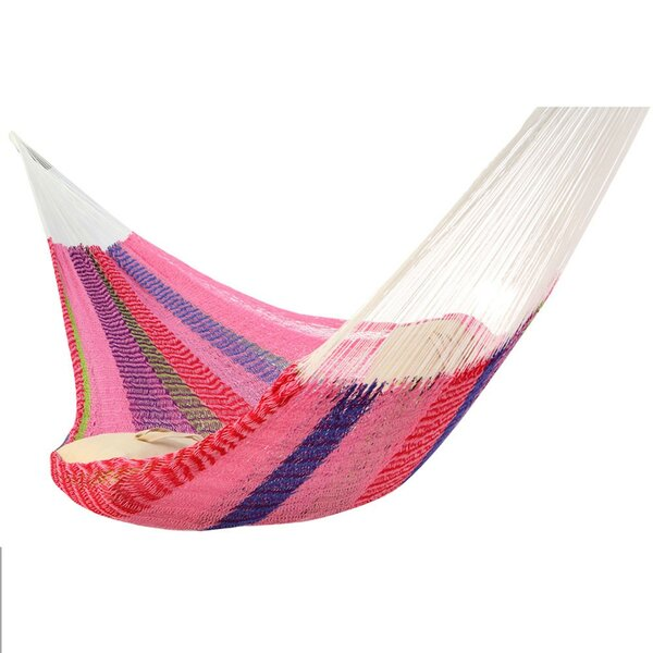 Lisa Double Tree Slim Cotton Hammock by Freeport Park