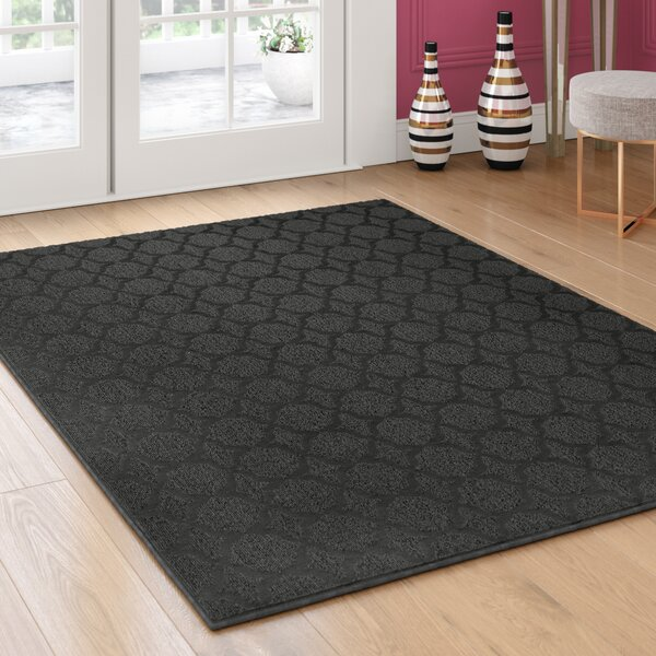 Blase Black Area Rug by Willa Arlo Interiors