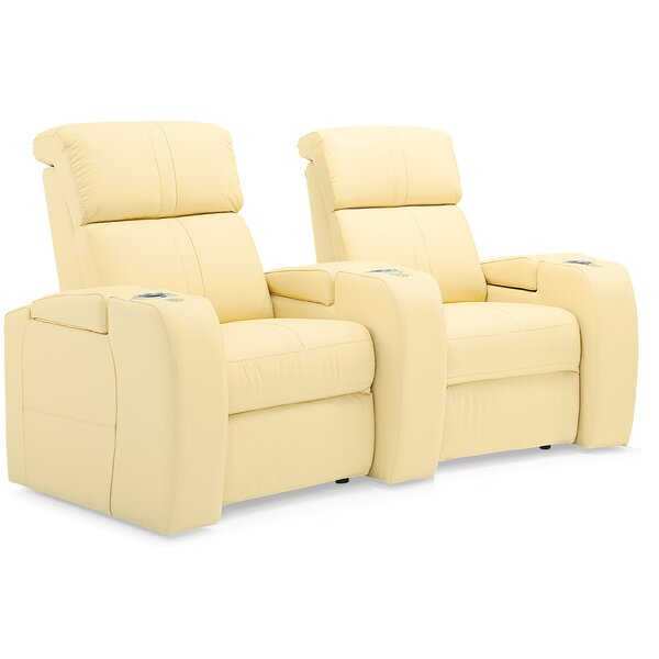 Corbett Curved Home Theater Loveseat (Row Of 2) By Palliser Furniture