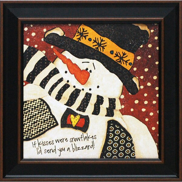 If Kisses by Jo Moulton Framed Painting Print by Artistic Reflections