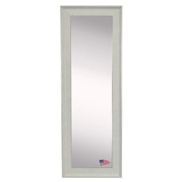 Wanner Vintage White Floor/Wall Mirror by Wrought Studio