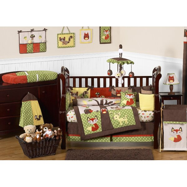 Forest Friends 9 Piece Crib Bedding Set by Sweet Jojo Designs