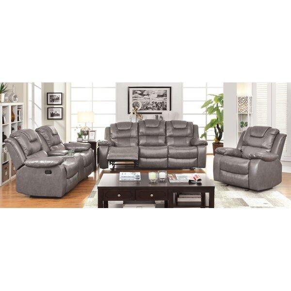 Harrison Reclining Configurable Living Room Set by Hokku Designs