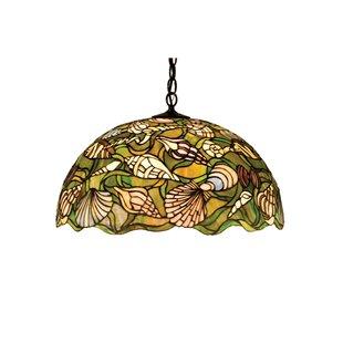 nautical ceiling light fixtures surface mount shower light tiffany nautical 3light bowl pendant lighting wayfair